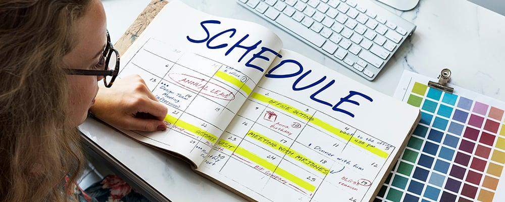 HAL - Proyectos de trabajo: ¿cómo calendarizar las tareas y concretarlas?