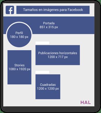 HAL Company - medidas Facebook