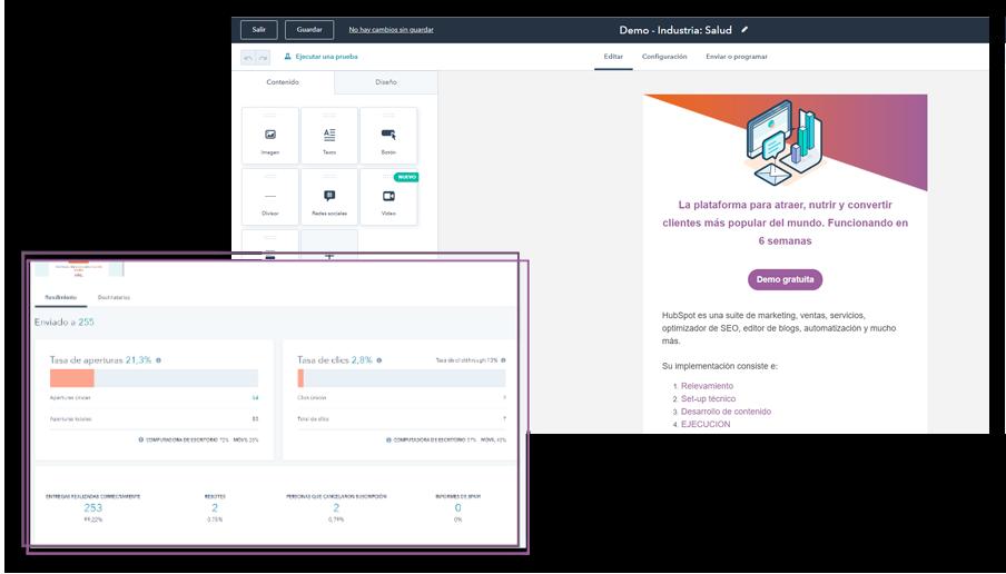 Plataforma CRM HubSpot